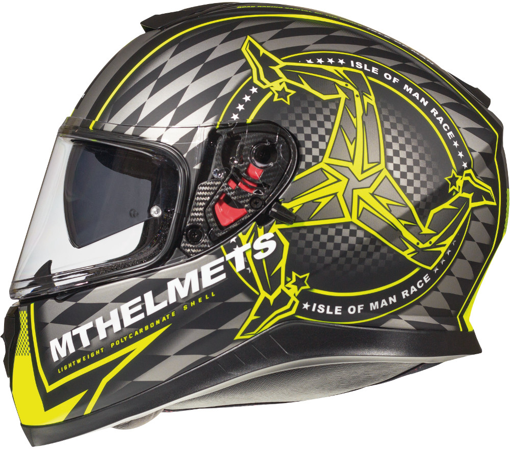 CASCO MT FF102SV THUNDER 3 SV ISLE OF MAN A3 NEGRO/AMARILLO FLUOR MATE