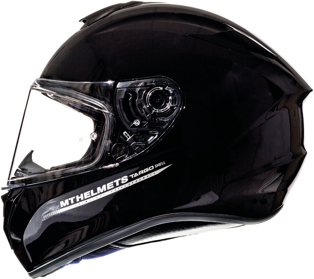 CASCO MT FF106 TARGO SOLID A1 NEGRO BRILLO